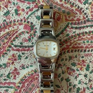 Fossil Women's Stainless Steel & Gold Metal Watch